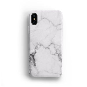 WHITE MARBLE MACBOOK SKIN + HARD CASE