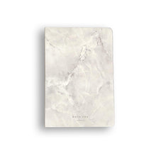 WHITE MARBLE NOTEBOOK