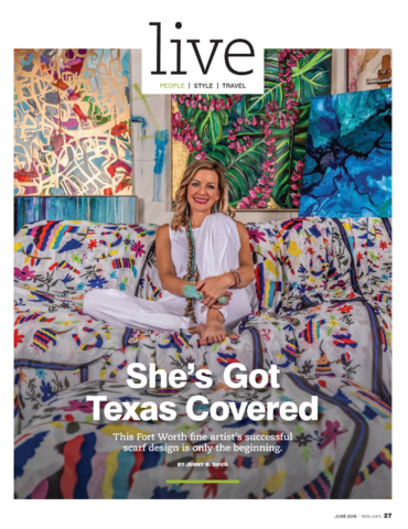 She's Got It Covered | Fort Worth, Texas Magazine