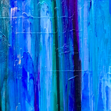 Allison Castillo Designs Blended Abstract Art