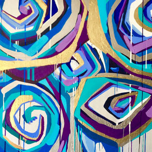 Allison Castillo Designs Botanical Abstract Art