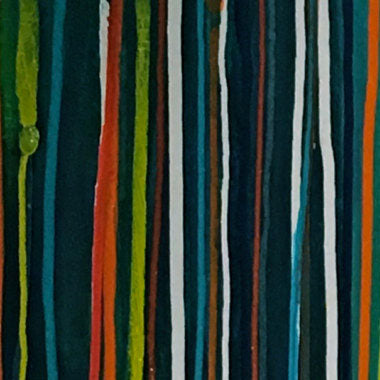 Allison Castillo Designs Stripes Abstract Art
