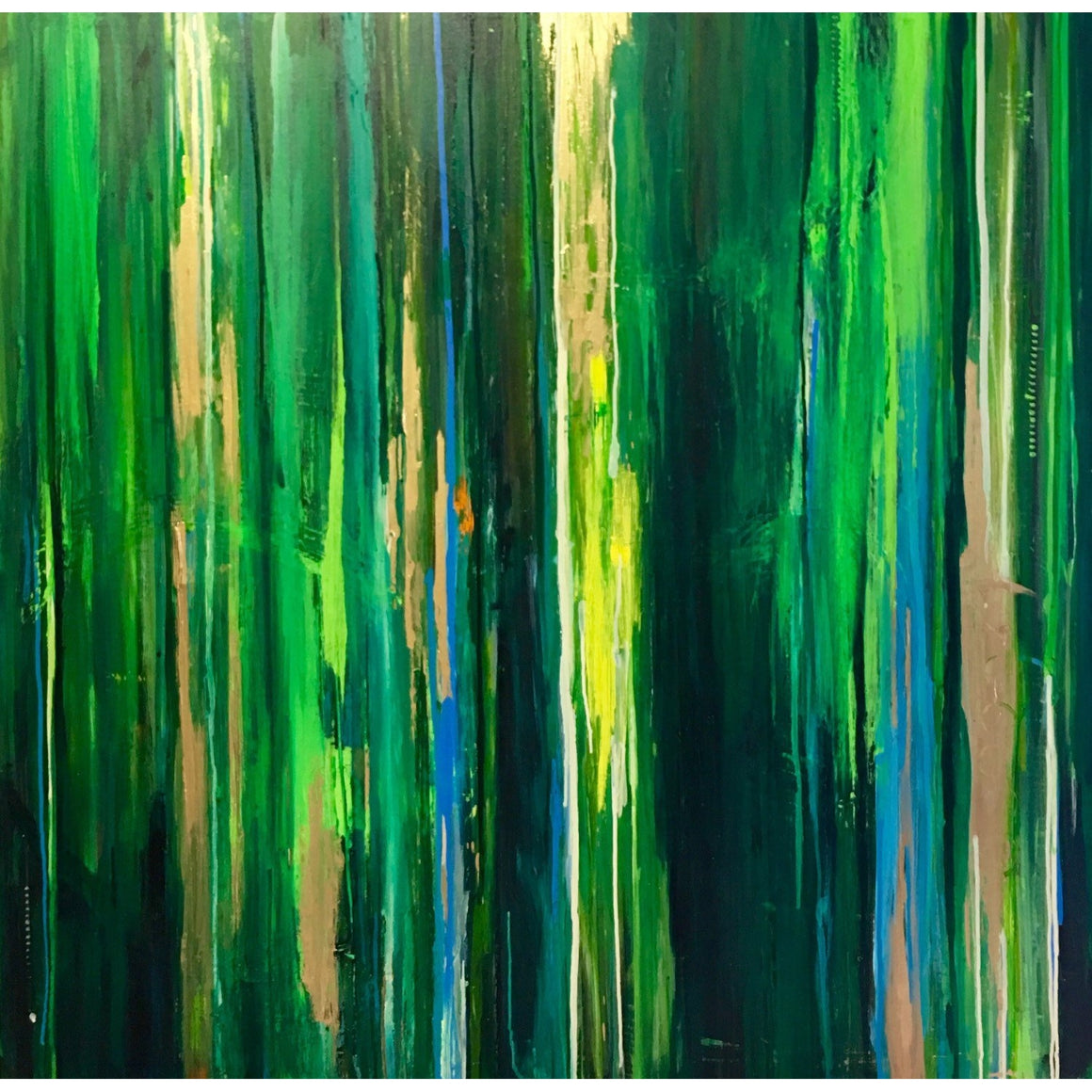 "48"" x 48"" ""Through the Forest"""