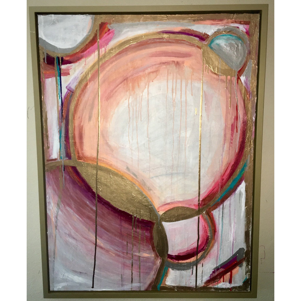 "30""x40"" ""Its Not A Peach"" Framed"