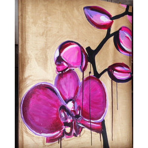 "30""x40"" ""That's Mrs. Orchid to you"""
