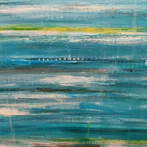 "48""x48"" ""Waters Edge"""