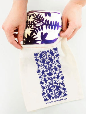 Horned Frog Otomi Inspired Scarf