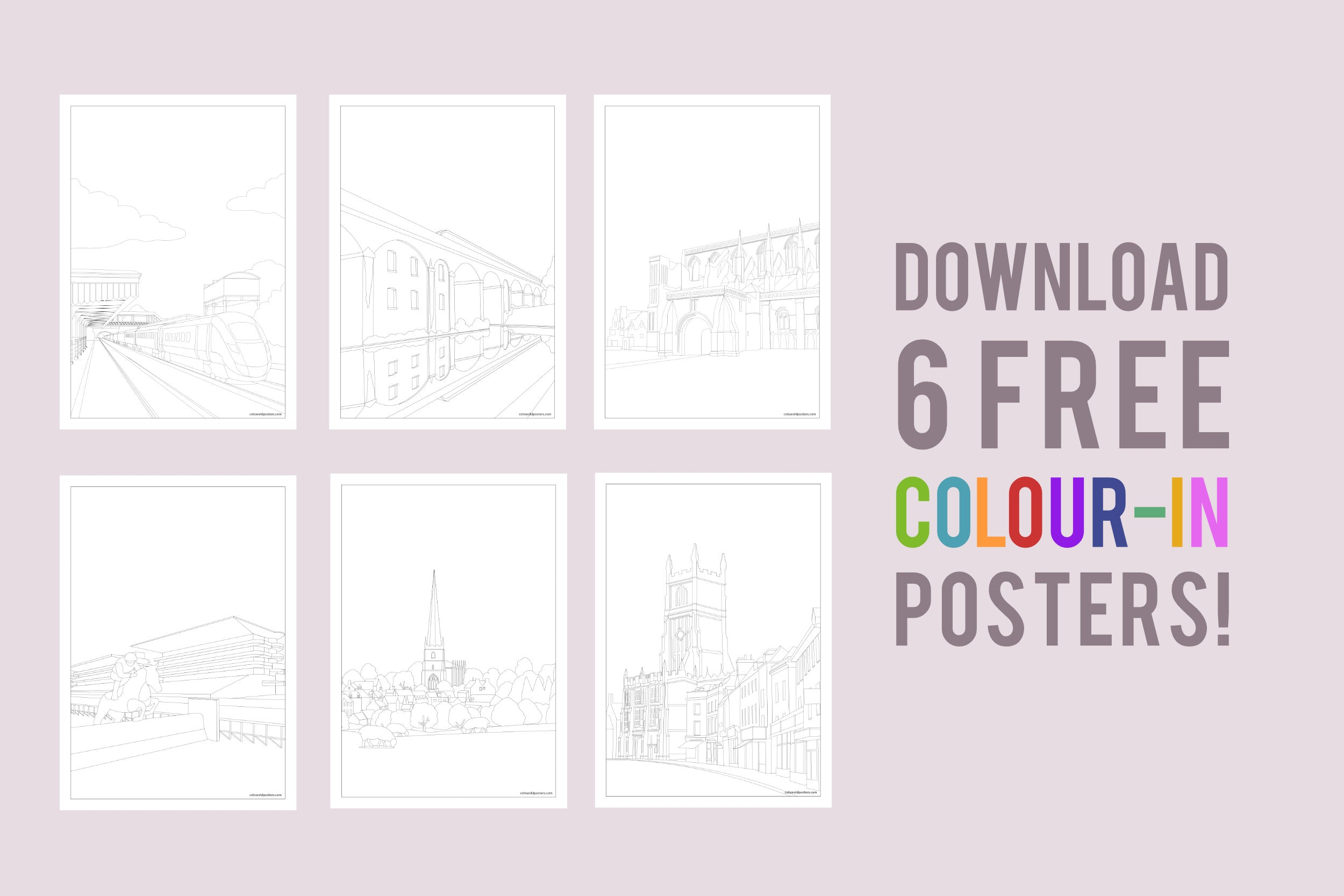 Colouring In Printable Downloads