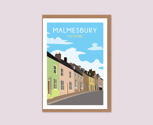 Malmesbury Street Greeting Card