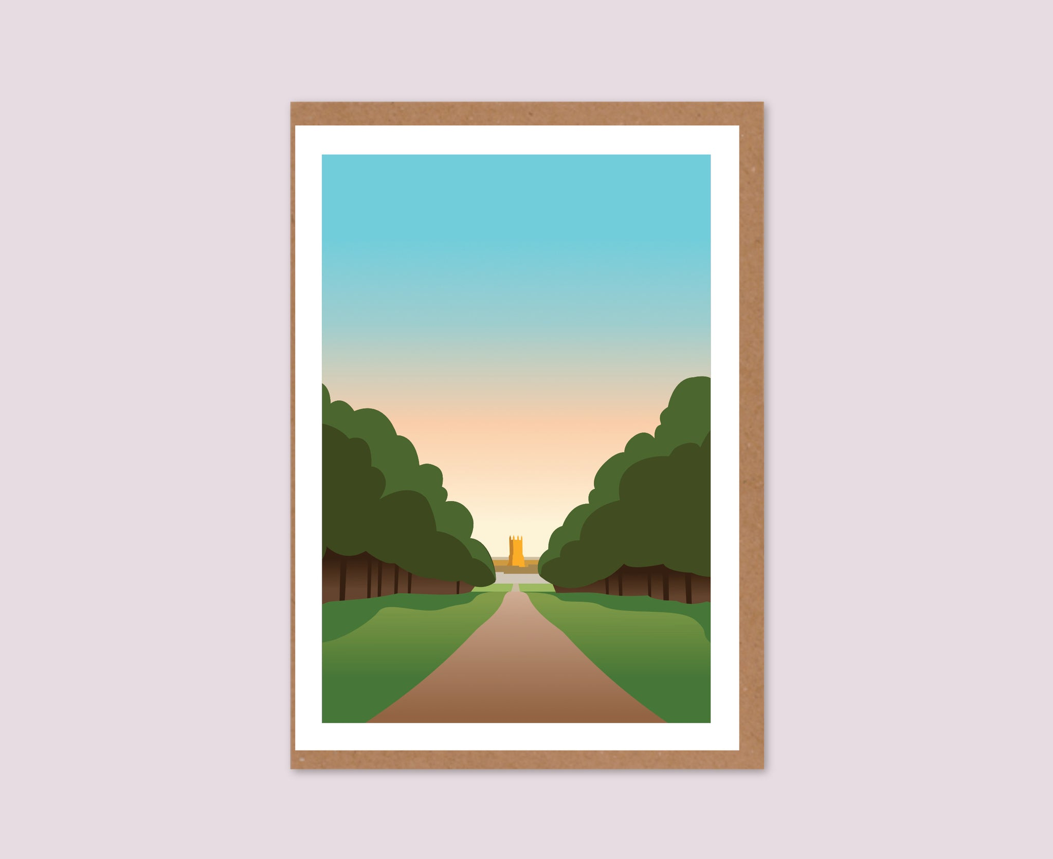 Cirencester Park Text-Free Greeting Card