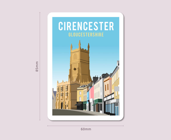 Cirencester Fridge Magnet