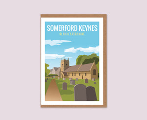 Somerford Keynes Greeting Card