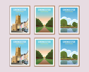 The Cirencester Greeting Card Box (6 Cards)