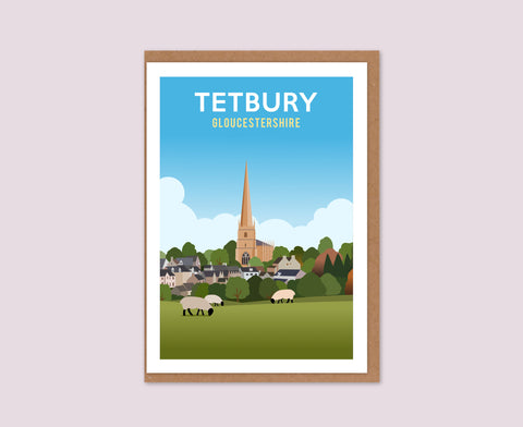 Tetbury Church Greetings Card