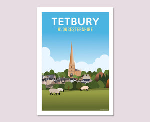 Tetbury Church Poster