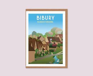 Bibury Greeting Card