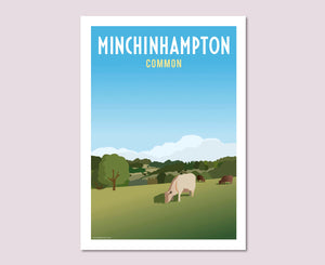 Minchinhampton Common Poster