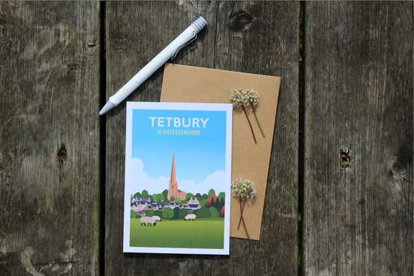 The Tetbury Greetings Card Box (6 Cards)