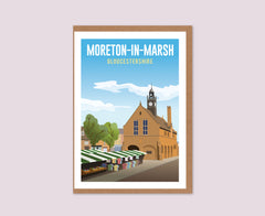 Moreton-in-Marsh greetings card