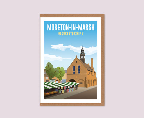 Moreton-in-Marsh Greeting Card