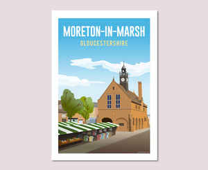 Moreton-in-Marsh Poster