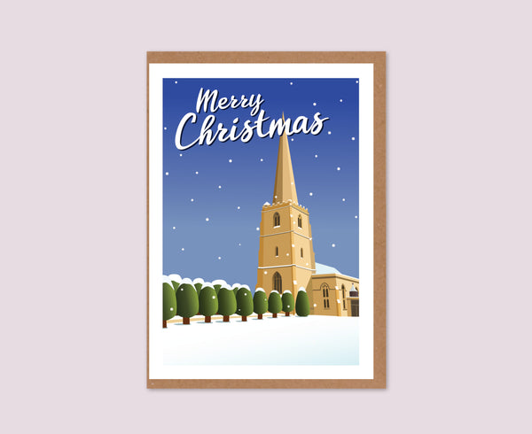 Painswick Church Christmas Card