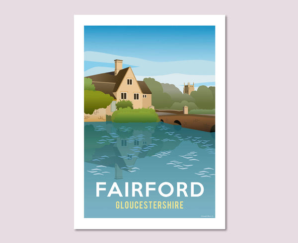 Fairford Mill Poster