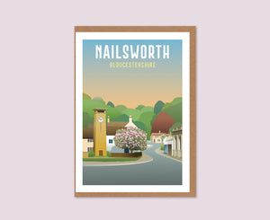 Nailsworth Greeting Card
