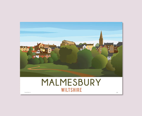 Malmesbury Town Poster – Limited Edition!
