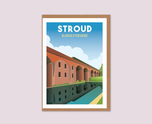 Stroud Greeting Card