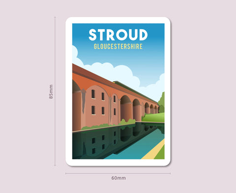 Stroud Fridge Magnet