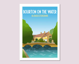 Bourton on the Water Poster