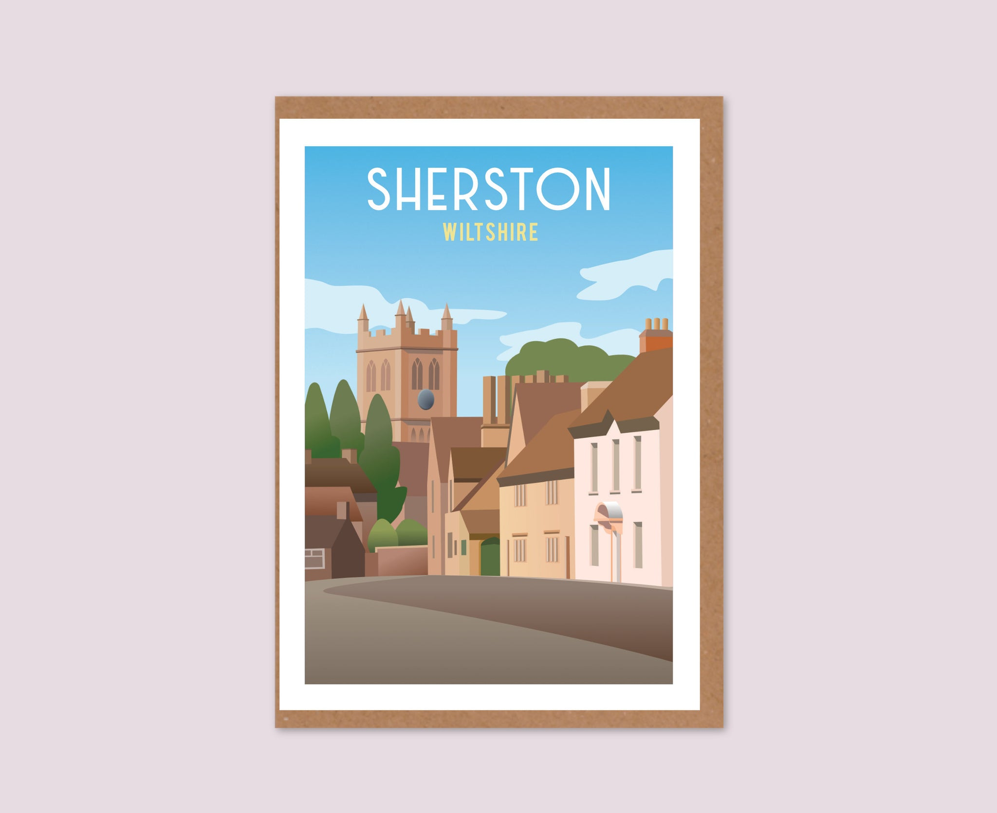 Sherston Greeting Card