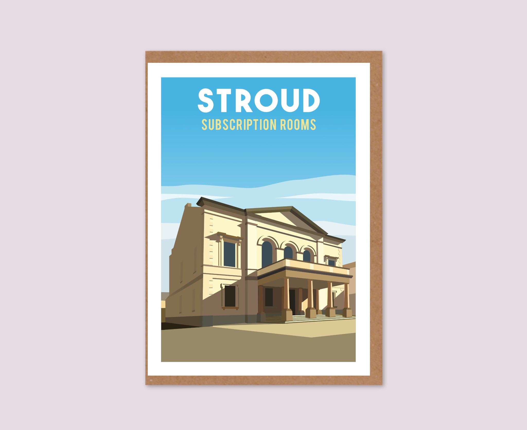 Stroud Subscription Rooms Greeting Card