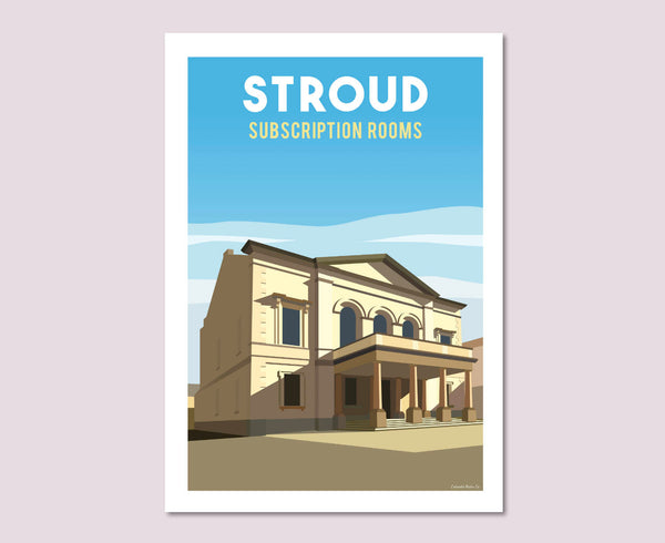 Stroud Subscription Rooms Poster