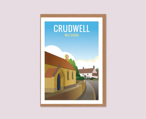Crudwell Greeting Card