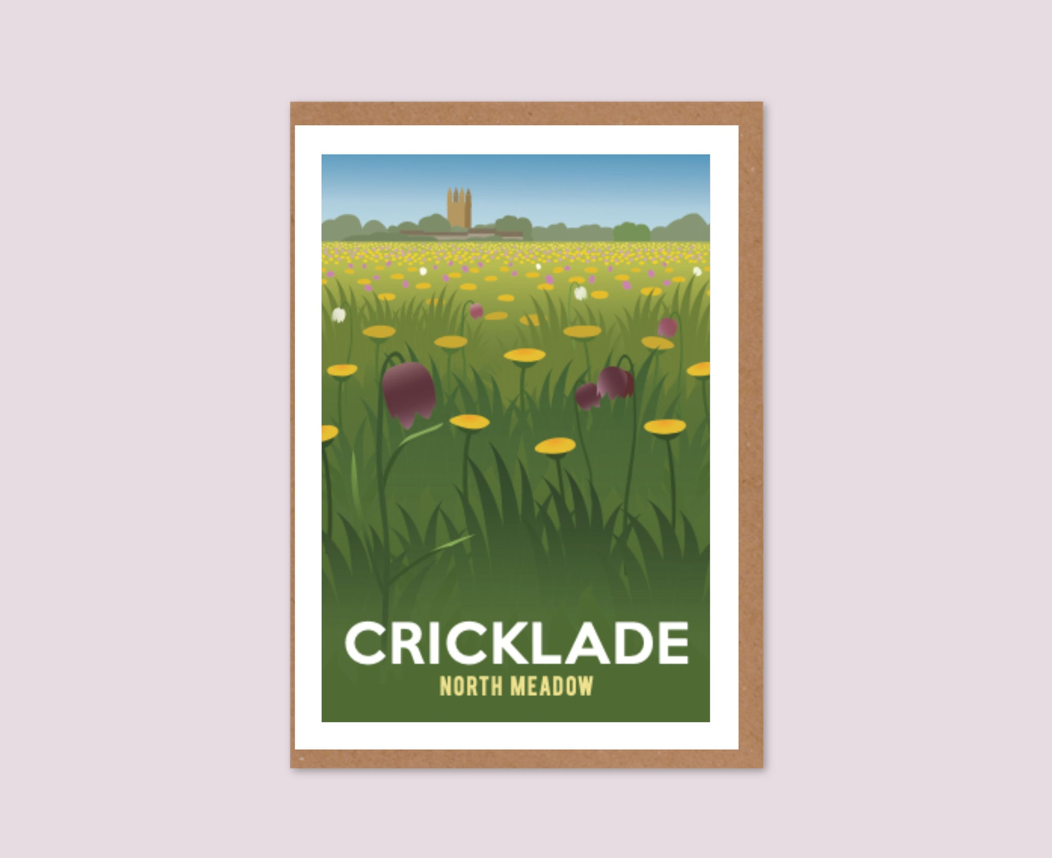 Cricklade Wildflowers Greeting Card