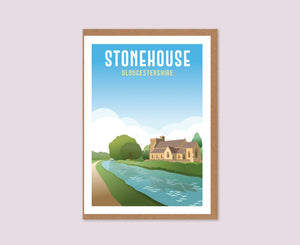Stonehouse Greeting Card