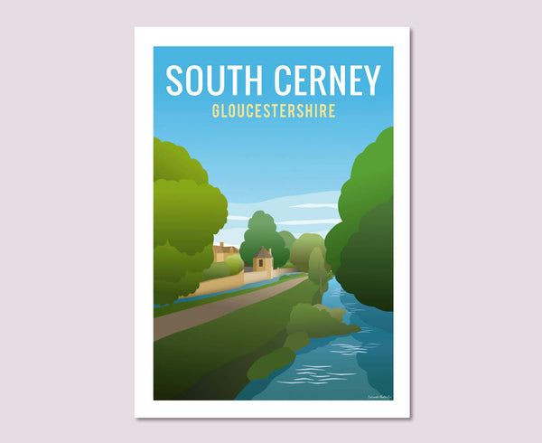 South Cerney Poster