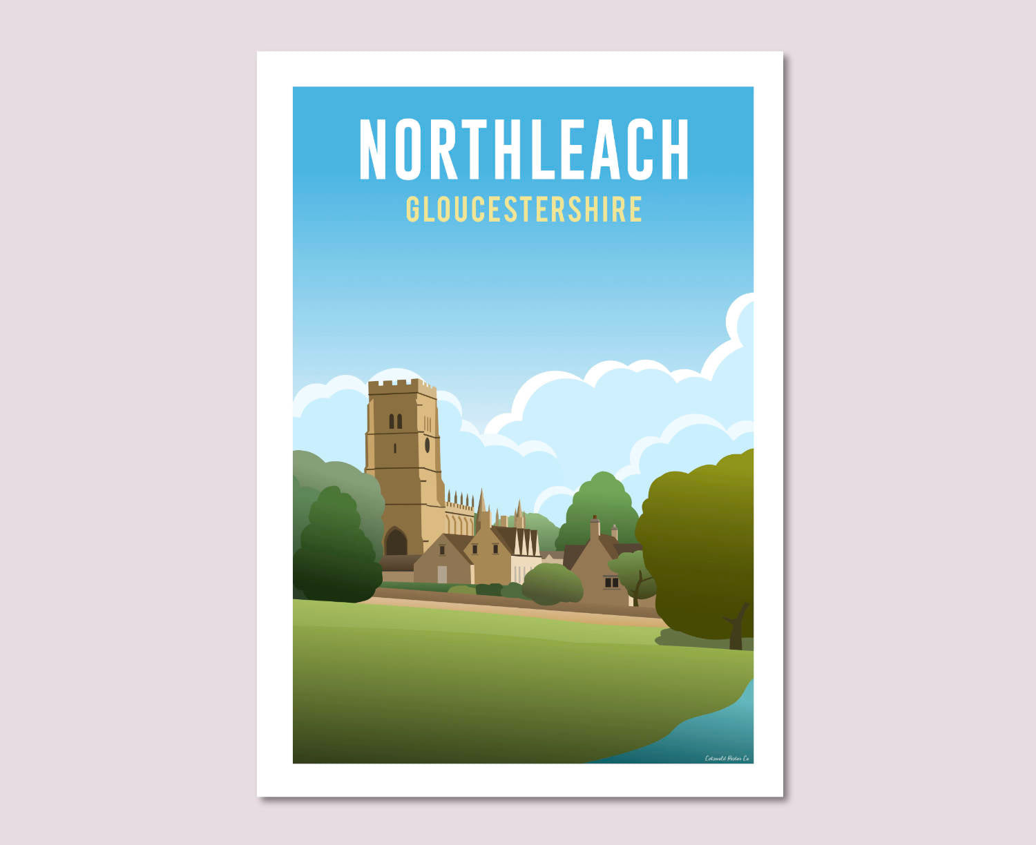 Northleach Poster