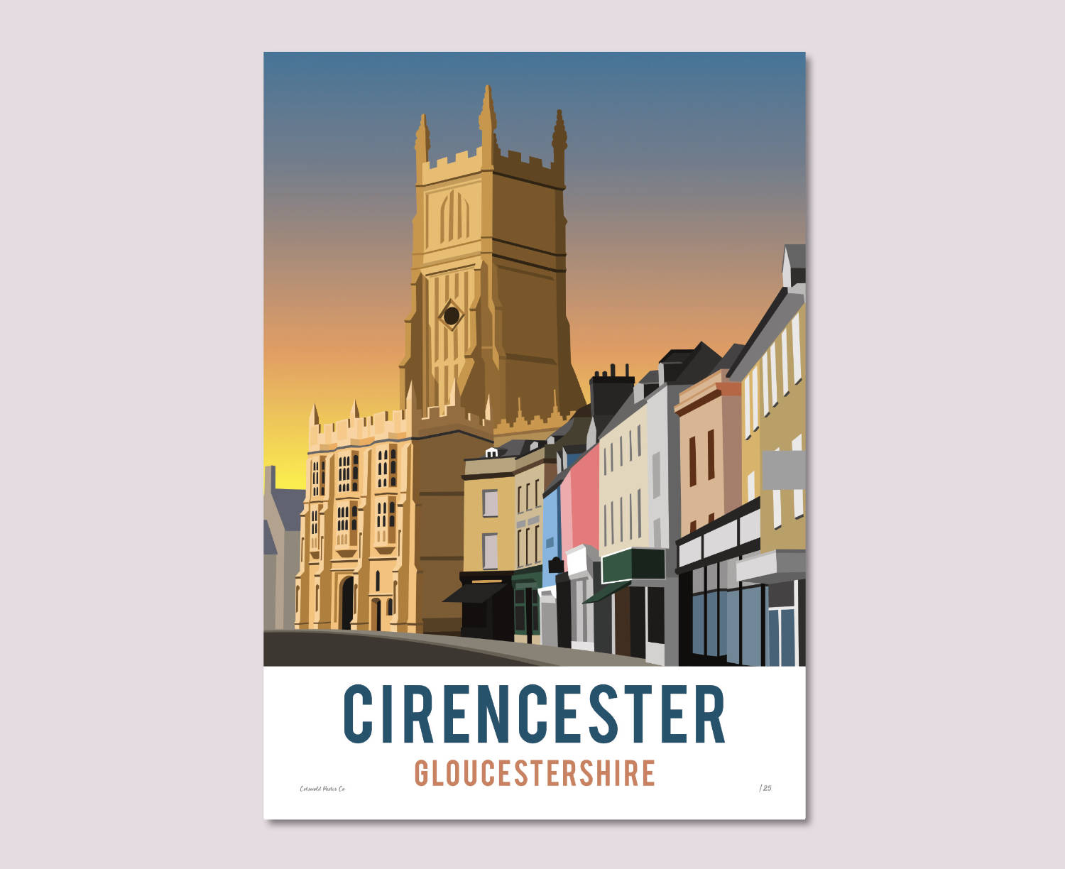 Cirencester Church Poster – Limited Edition!