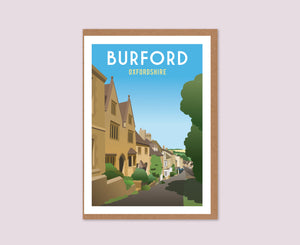 Burford Greeting Card