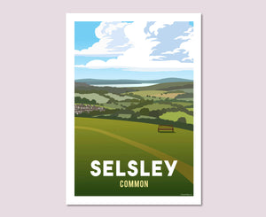 Selsley Common Poster