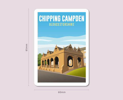 Chipping Campden Fridge Magnet