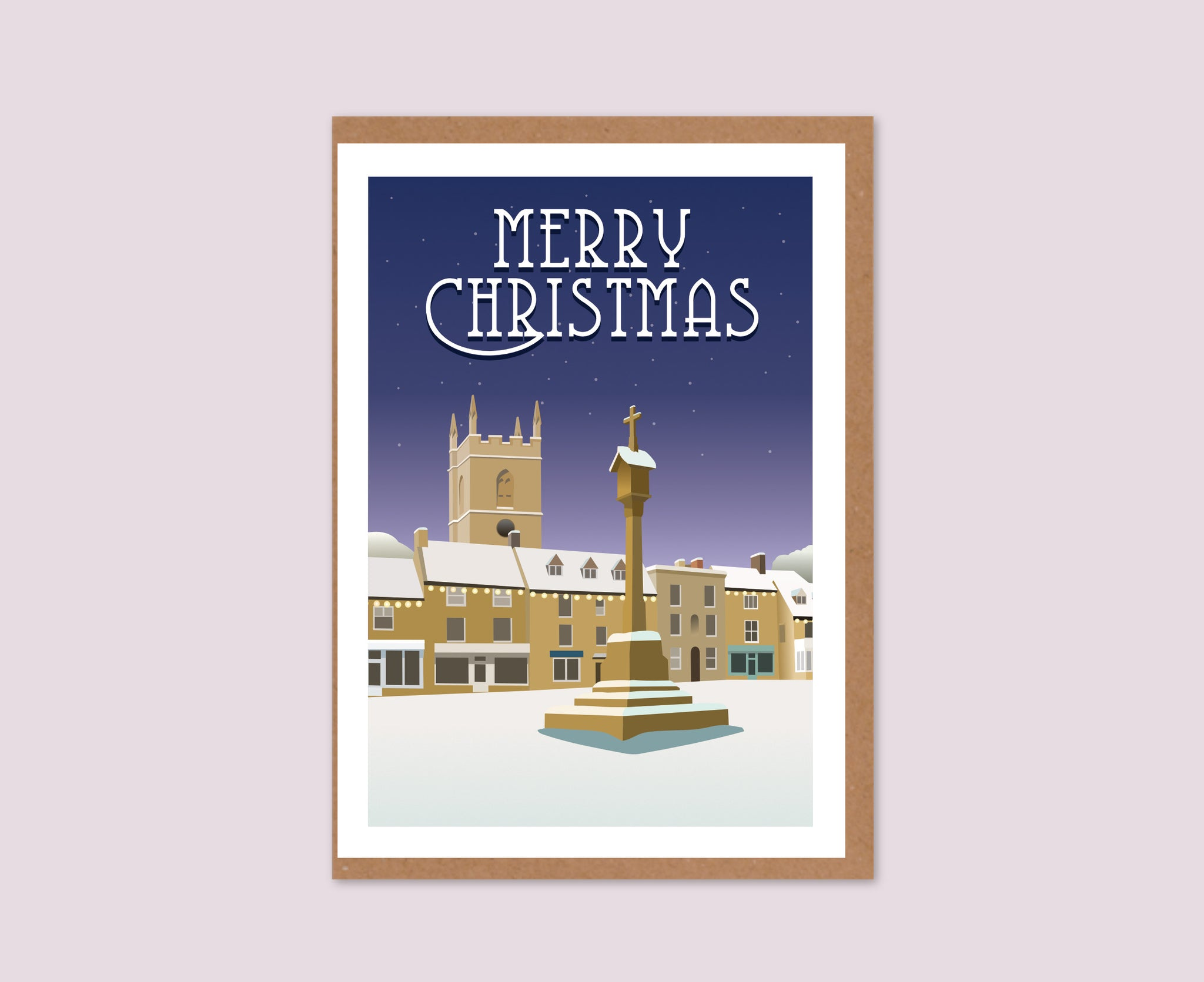 Stow-on-the-Wold Christmas Card