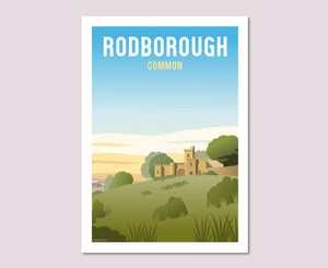 Rodborough Common Poster