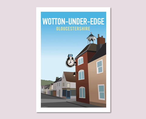 Wotton-Under-Edge Poster