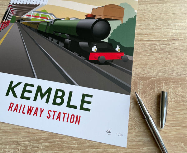 Kemble Railway Station Poster – Limited Edition!