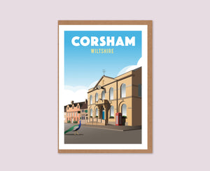 Corsham Greeting Card