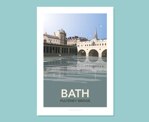 Bath Pulteney Bridge Poster